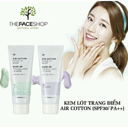 KEM LÓT AIR COTTON MAKE UP BASE TFS
