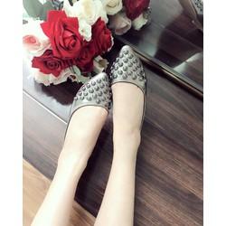 Giày Búp Bê Tán Đinh