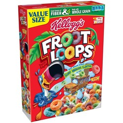 Ngũ cốc ăn sáng Kellogg Froot Loops 345gram