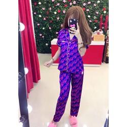 Set bộ pijama dài _MỎ CHU SHOP