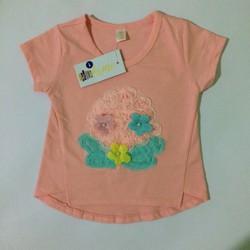 áo thun cho be gai từ 5 tháng tuổi đến 3 tuổi