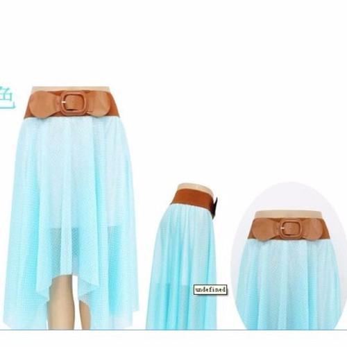 chân váy vintage dài nữ tính Mã: VN162 - XANH