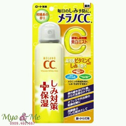 Xịt khoáng Melano CC Vitamin C của Rohto
