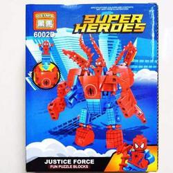 Lego  xếp hình  SUPER HEROES  138 pcs