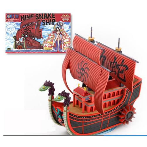 Mô hình thuyền Tàu Boa HankCock Thất Vũ Hải Snake One Piece