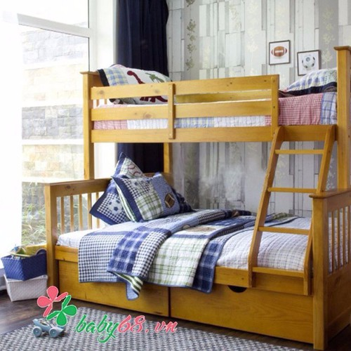 Giường tầng 1m4 Bella BB228