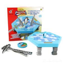 Bộ đồ chơi phá băng bẫy chim cánh cụt - siêu hót