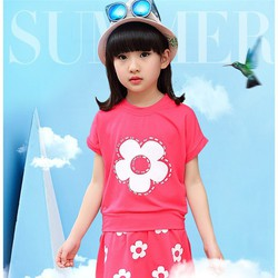 Set áo váy mùa hè cho bé