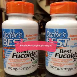Thực phẩm chức năng Best Fucoidan 70phantram 60 viên – 300mg