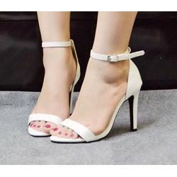 giày cao gót đơn giản trẻ trung