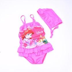 Bộ bơi bikini hồng Disney bé gái 2 đến 8 tuổi