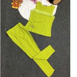 Set áo sát nách phối quần lửng SET016