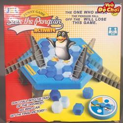 bộ đồ chơi phá băng giải cứu chim cánh cụt