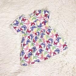 Váy cotton họa tiết cho bé gái 1-5 tuổi