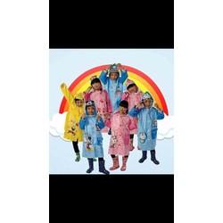 áo mưa tre em