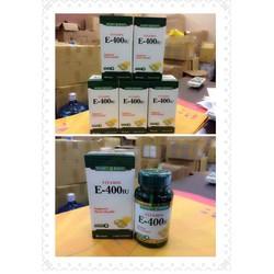 vitamin E 400IU hàng USA