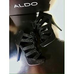 Giày boot nữ thắt dây chiến binh