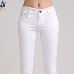 Quần Jean trắng thời trang