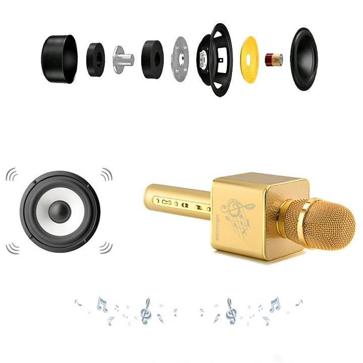 Mic Karaoke JY-50 Cực Hay [ Kết nối 2 micro cùng lúc ] 7