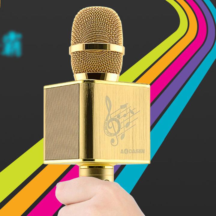 Mic Karaoke JY-50 Cực Hay [ Kết nối 2 micro cùng lúc ] 4