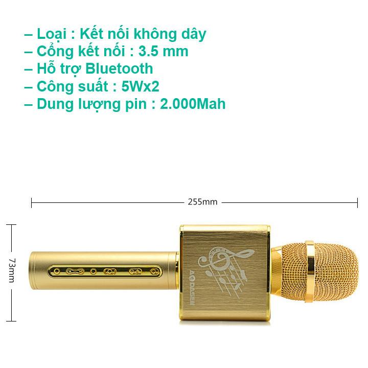 Mic Karaoke JY-50 Cực Hay [ Kết nối 2 micro cùng lúc ] 9