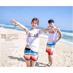 Bộ đồ đôi đi biểnDD01521, đồ đi biển, đồ cặp đi biển,đồ đôi đi biển
