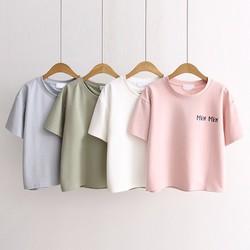 Áo T-shirt ngắn tay Mew Mew