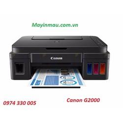MÁY IN CANON ĐA CHỨC NĂNG PIXMA G2000 hàng chính hãng