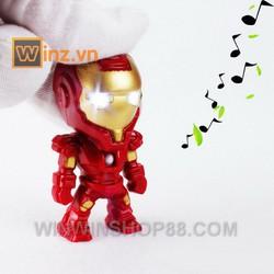 Móc khóa Iron-man có đèn led cung cấp bởi WinWinShop88