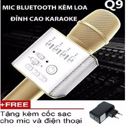 Microphone Karaoke Bluetooth Micgeek Q9