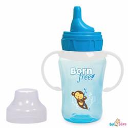 Bình tập uống Bornfree 260ml xanh lơ
