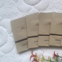 Combo 5 gói Sample tinh chất vàng O_hui The First