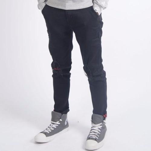 Quần jeans nam ống côn rách gối QJ011C - 4176377 , 5033370 , 15_5033370 , 349000 , Quan-jeans-nam-ong-con-rach-goi-QJ011C-15_5033370 , sendo.vn , Quần jeans nam ống côn rách gối QJ011C