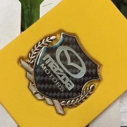 Logo dán xe hãng Mazda