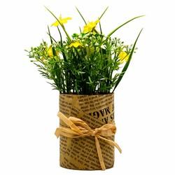 Chậu hoa giả đặt bàn UBL DF0310