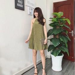 Đầm yếm nhũ dập ly hàng Quảng Châu