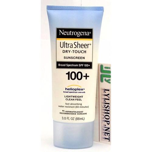 Kem Chống Nắng Neutrogena Ultra Sheer SPF 100 88ml từ Mỹ - 4176535 , 5034682 , 15_5034682 , 210000 , Kem-Chong-Nang-Neutrogena-Ultra-Sheer-SPF-100-88ml-tu-My-15_5034682 , sendo.vn , Kem Chống Nắng Neutrogena Ultra Sheer SPF 100 88ml từ Mỹ