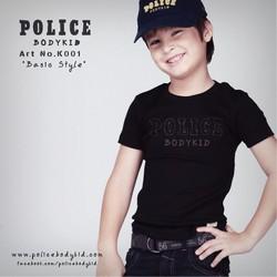 Áo thun trẻ em Police nhập khẩu Thái Lan