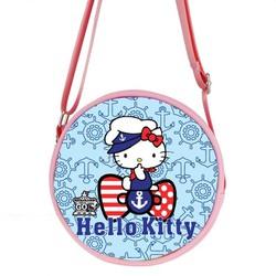 Túi đeo chéo tròn hoạt hình Kitty