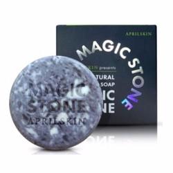 Đá thần xà phòng rửa mặt April Skin Magic Stone  Natural Soap