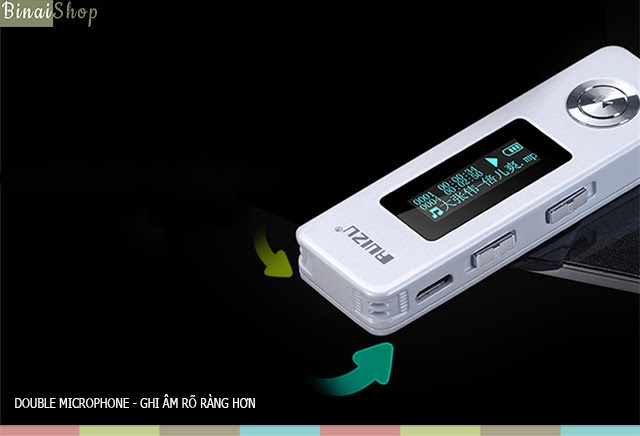 Máy ghi âm HD Ruizu Recorder K10 5
