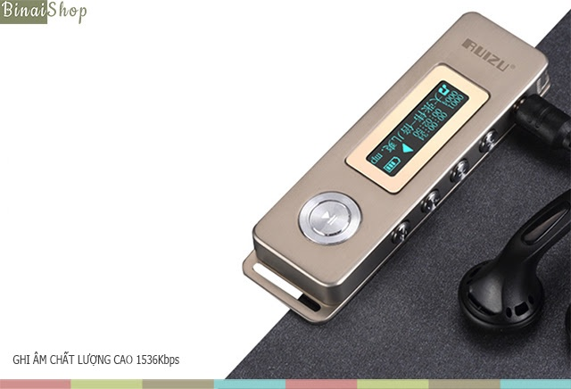 Máy ghi âm HD Ruizu Recorder K10 4