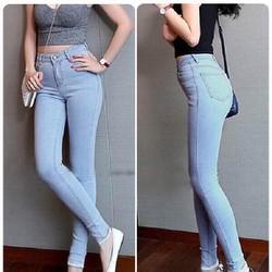 Quần jean nữ lưng thấp