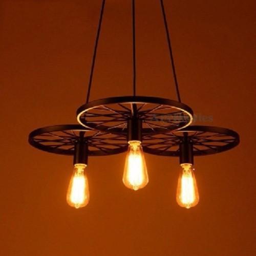 Bộ đèn thả 3 bánh xe khung sắt - 4176272 , 5032976 , 15_5032976 , 530000 , Bo-den-tha-3-banh-xe-khung-sat-15_5032976 , sendo.vn , Bộ đèn thả 3 bánh xe khung sắt