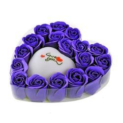 Quà tặng 8-3 Hoa hồng sáp thơm phát sáng