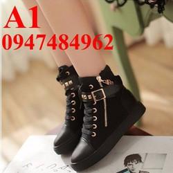Giày sneaker nữ thời trang cực đẹp -A1