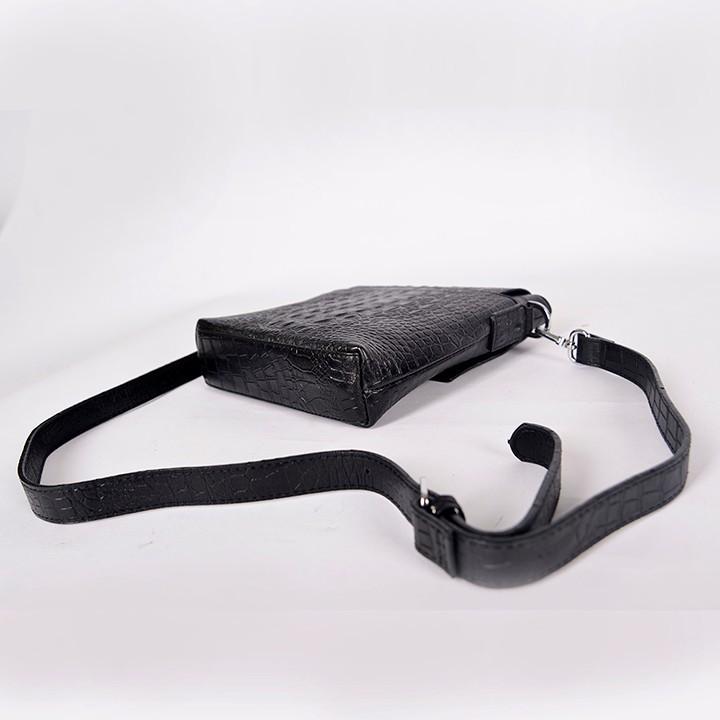 Túi iPad Da Bò Vân Cá Sấu SIP023Đ 8