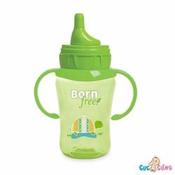 Bình tập uống Bornfree 260ml xanh lá