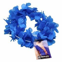 Vòng hoa Lei màu xanh