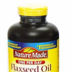 Hỗ trợ tim mạch tăng cường trí nhớ Flaxseed Oil Nature Made - Bill Mỹ